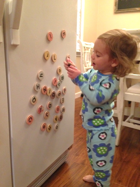 """She woke up this morning, saw these and said """"Yay Momma!"""""""