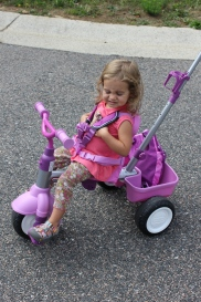 Lola's new bike!